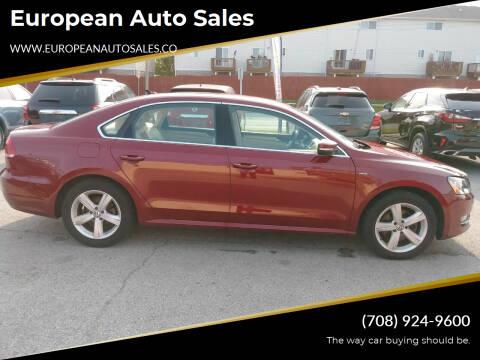 2015 Volkswagen Passat for sale at European Auto Sales in Bridgeview IL