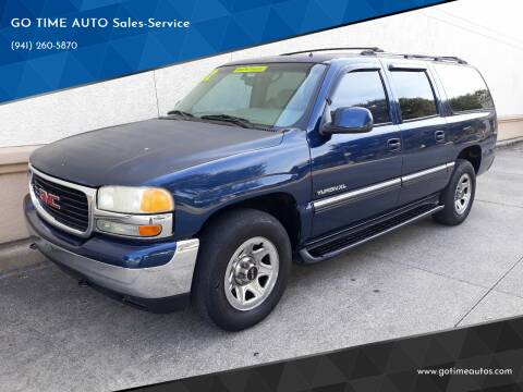 2002 GMC Yukon XL for sale at Go Time Automotive in Sarasota FL