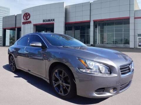 2014 Nissan Maxima for sale at BEAMAN TOYOTA in Nashville TN