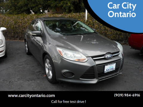2014 Ford Focus for sale at Car City Ontario in Ontario CA