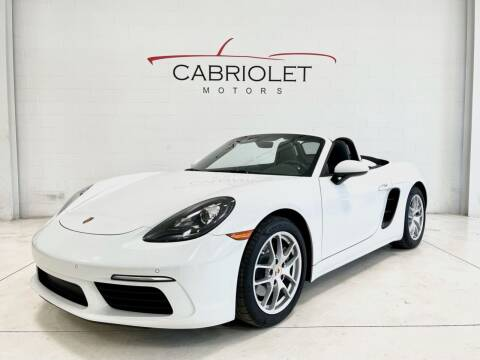 2018 Porsche 718 Boxster for sale at Cabriolet Motors in Morrisville NC