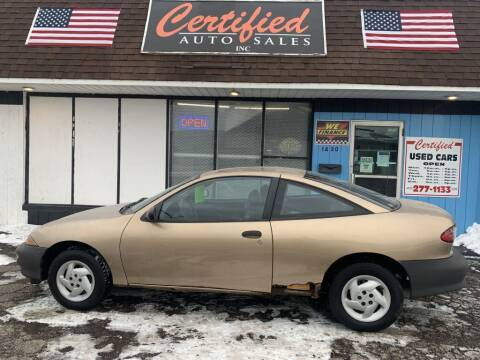 1998 Chevrolet Cavalier for sale at Certified Auto Sales, Inc in Lorain OH