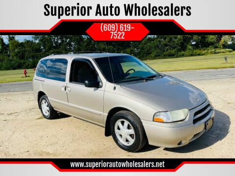 2002 Nissan Quest for sale at Superior Auto Wholesalers in Burlington NJ