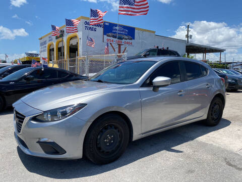 2016 Mazda MAZDA3 for sale at INTERNATIONAL AUTO BROKERS INC in Hollywood FL