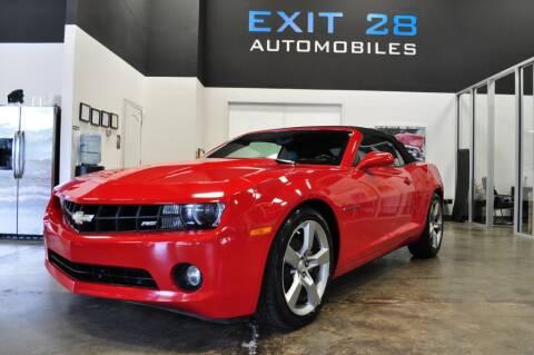 2011 Chevrolet Camaro for sale at Exit 28 Auto Center LLC in Cornelius NC
