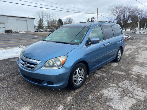 2006 Honda Odyssey for sale at US5 Auto Sales in Shippensburg PA