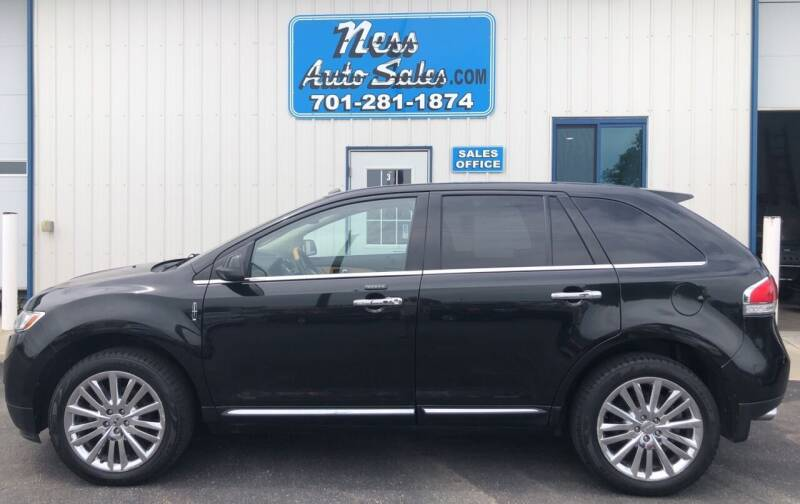 2011 Lincoln MKX for sale at NESS AUTO SALES in West Fargo ND