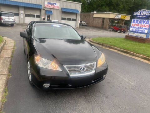 2008 Lexus ES 350 for sale at BRAVA AUTO BROKERS LLC in Clarkston GA