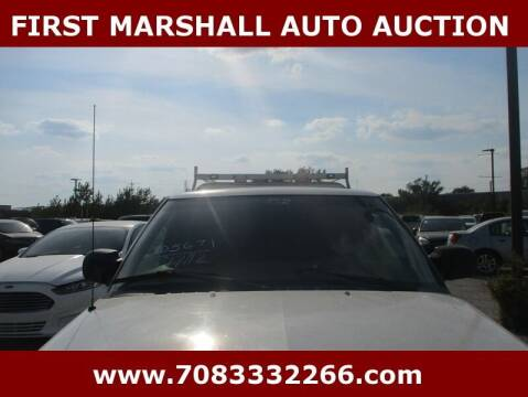 2002 Chevrolet S-10 for sale at First Marshall Auto Auction in Harvey IL