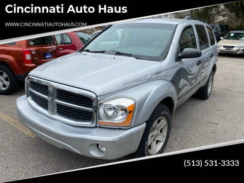2006 Dodge Durango for sale at Cincinnati Auto Haus in Cincinnati OH