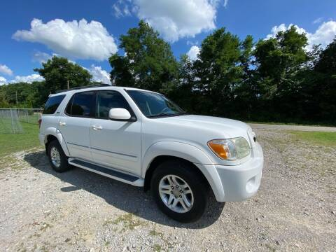 2006 Toyota Sequoia for sale at Tennessee Valley Wholesale Autos LLC in Huntsville AL