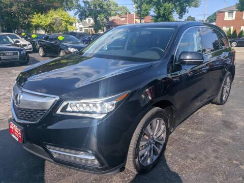 2016 Acura MDX for sale at CLASSIC MOTOR CARS in West Allis WI