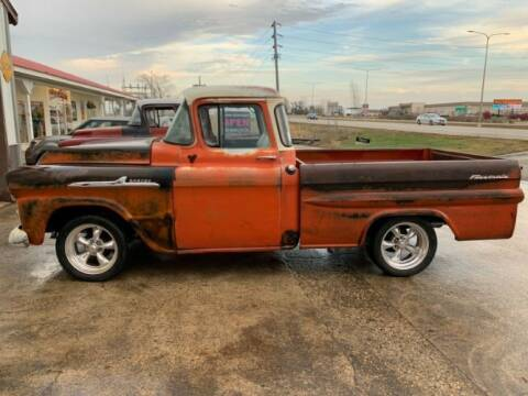 1958 Chevrolet C/K 20 Series for sale at Classic Car Deals in Cadillac MI