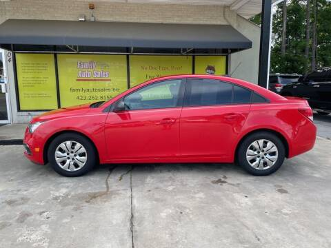 2015 Chevrolet Cruze for sale at Family Auto Sales of Johnson City in Johnson City TN