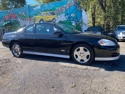 2007 Chevrolet Monte Carlo for sale at Showcase Motors in Pittsburgh PA