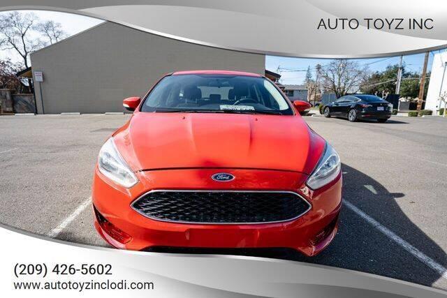 2015 Ford Focus for sale at Auto Toyz Inc in Lodi CA
