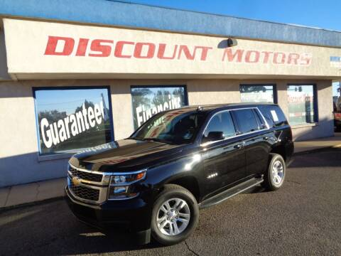 2020 Chevrolet Tahoe for sale at Discount Motors in Pueblo CO