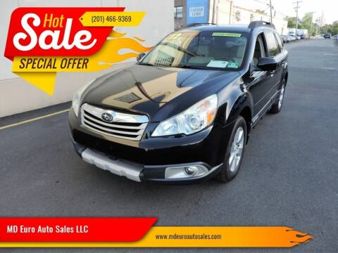 2012 Subaru Outback for sale at MD Euro Auto Sales LLC in Hasbrouck Heights NJ