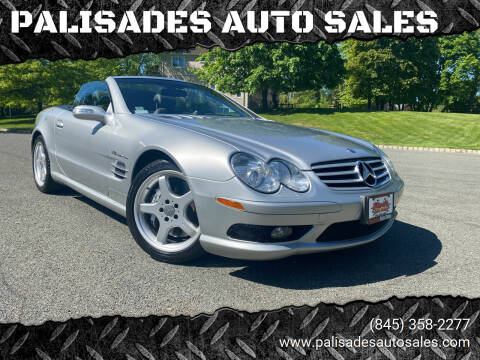 2004 Mercedes-Benz SL-Class for sale at PALISADES AUTO SALES in Nyack NY