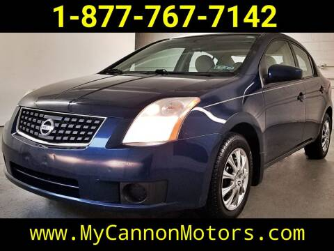 2007 Nissan Sentra for sale at Cannon Motors in Silverdale PA
