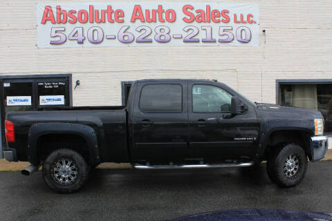 2007 Chevrolet Silverado 2500HD for sale at Absolute Auto Sales in Fredericksburg VA