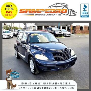 2005 Chrysler PT Cruiser for sale at SAMPEDRO MOTORS COMPANY INC in Orlando FL