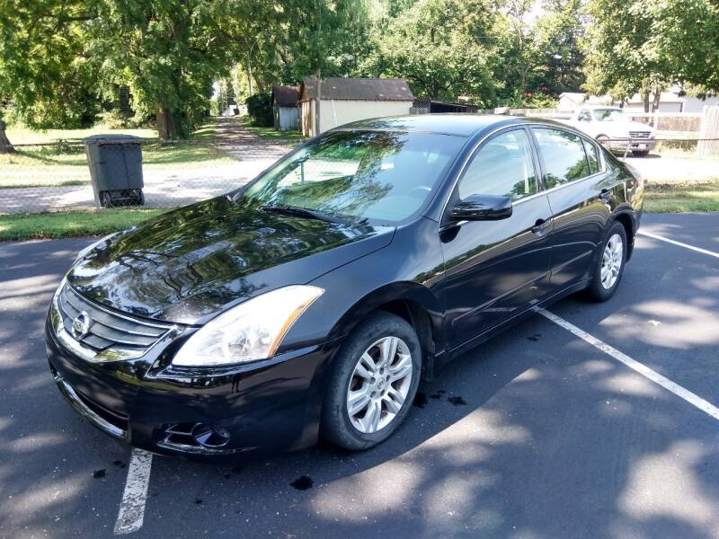 2012 Nissan Altima for sale at Eddie's Auto Sales in Jeffersonville IN