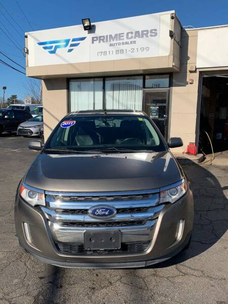 2012 Ford Edge for sale at Prime Cars Auto Sales in Saugus MA