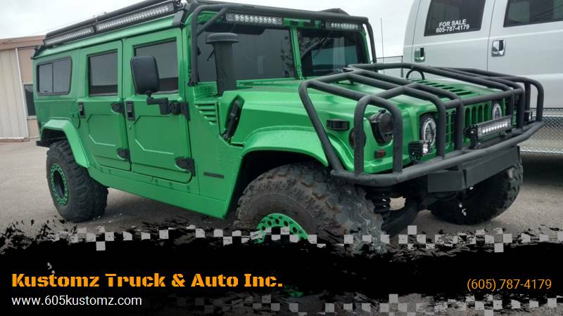 1995 AM General Hummer for sale at Kustomz Truck & Auto Inc. in Rapid City SD