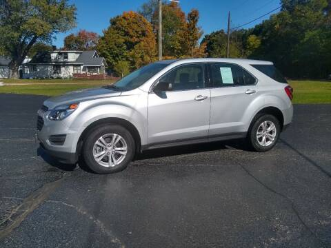 2016 Chevrolet Equinox for sale at Depue Auto Sales Inc in Paw Paw MI