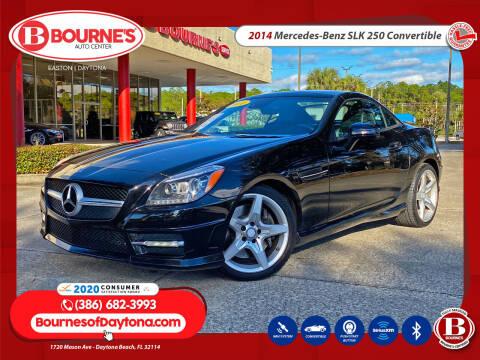2014 Mercedes-Benz SLK for sale at Bourne's Auto Center in Daytona Beach FL
