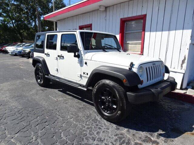 2007 Jeep Wrangler Unlimited for sale at DONNY MILLS AUTO SALES in Largo FL