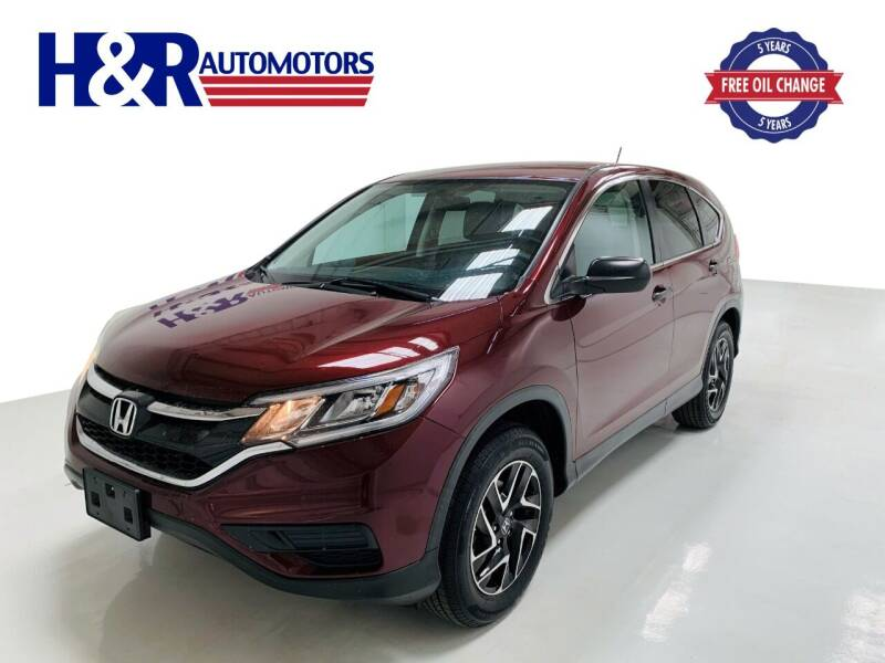 2016 Honda CR-V for sale at H&R Auto Motors in San Antonio TX