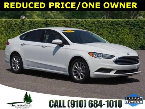 2017 Ford Fusion for sale at PHIL SMITH AUTOMOTIVE GROUP - Manager's Specials in Lighthouse Point FL