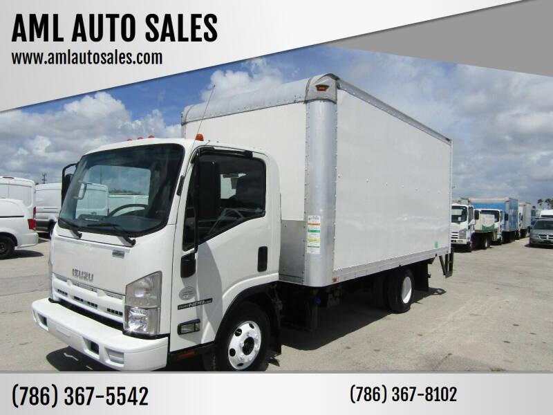 2013 Isuzu NPR-HD for sale at AML AUTO SALES - Box trucks in Opa-Locka FL