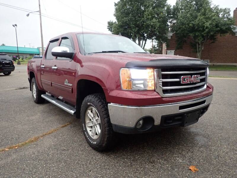 2013 GMC Sierra 1500 for sale at Marvel Automotive Inc. in Big Rapids MI