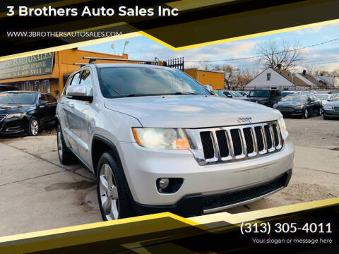 2011 Jeep Grand Cherokee for sale at 3 Brothers Auto Sales Inc in Detroit MI