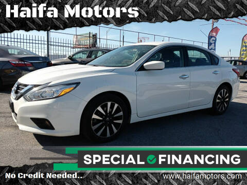 2018 Nissan Altima for sale at Haifa Motors in Philadelphia PA
