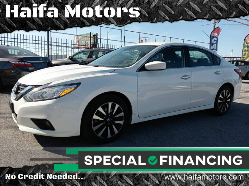 2018 Nissan Altima for sale at Haifa Motors in Philadelphia PA