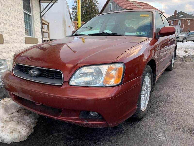 2003 Subaru Legacy for sale at Waltz Sales LLC in Gap PA