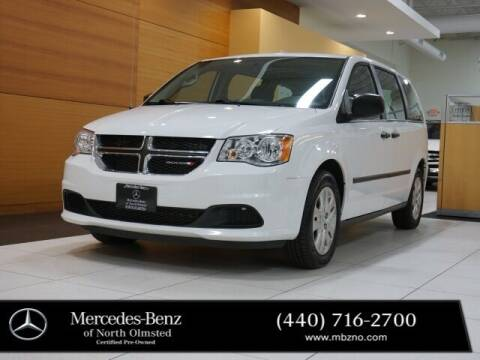 2016 Dodge Grand Caravan for sale at Mercedes-Benz of North Olmsted in North Olmstead OH
