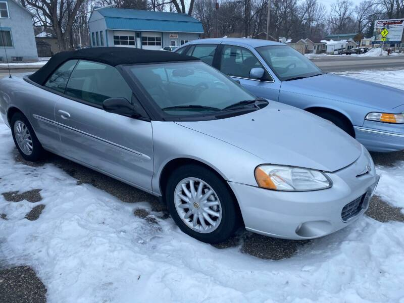 2001 Chrysler Sebring for sale at Atwater Ford Inc in Atwater MN