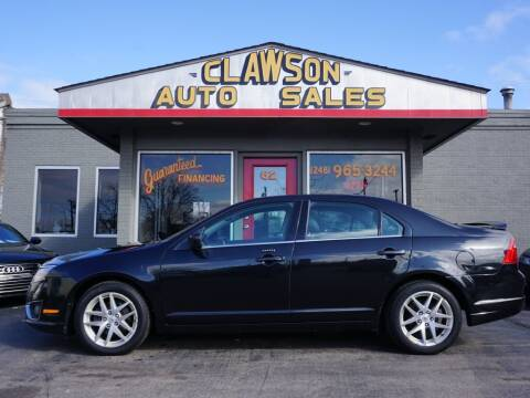 2011 Ford Fusion for sale at Clawson Auto Sales in Clawson MI