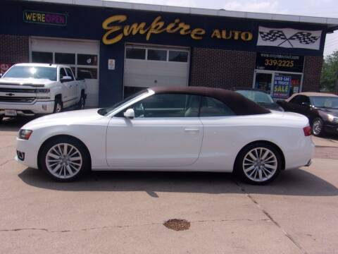 2011 Audi A5 for sale at Empire Auto Sales in Sioux Falls SD