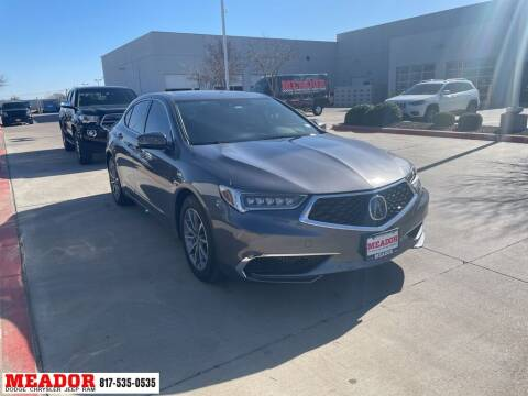 2020 Acura TLX for sale at Meador Dodge Chrysler Jeep RAM in Fort Worth TX