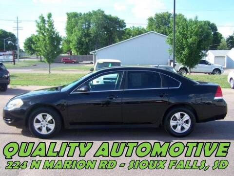 2013 Chevrolet Impala for sale at Quality Automotive in Sioux Falls SD