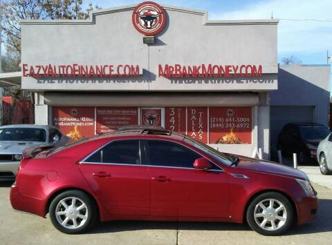 2008 Cadillac CTS for sale at Eazy Auto Finance in Dallas TX