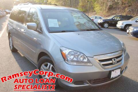 2007 Honda Odyssey for sale at Ramsey Corp. in West Milford NJ