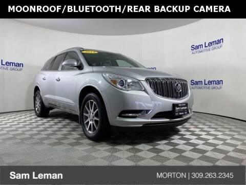 2014 Buick Enclave for sale at Sam Leman CDJRF Morton in Morton IL