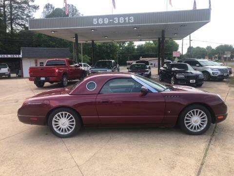 2004 Ford Thunderbird for sale at BOB SMITH AUTO SALES in Mineola TX